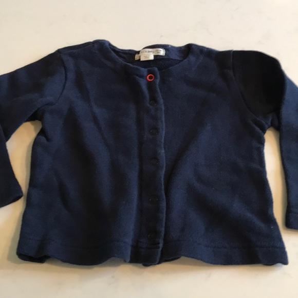 J. Crew Other - J. Crew baby Snap cardigan sweater